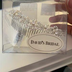 David's Bridal Jewelry - David's Bridal Wedding Comb/Hair decor